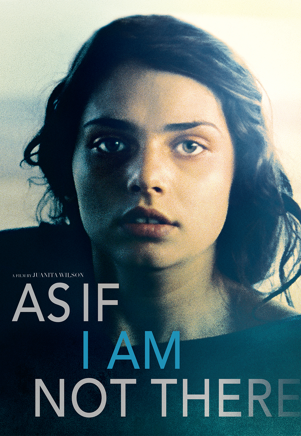 As If I Am Not There Poster Art