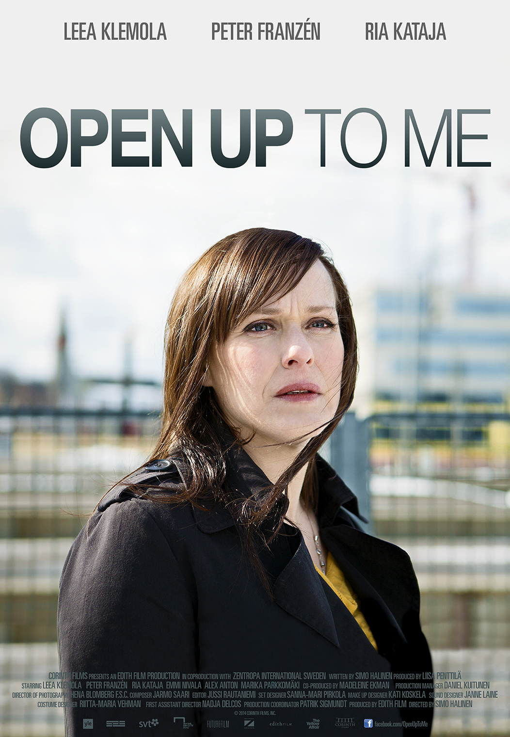 Open Up to Me poster art