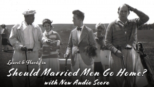 Laurel & Hardy in Should Married Men Go Home?