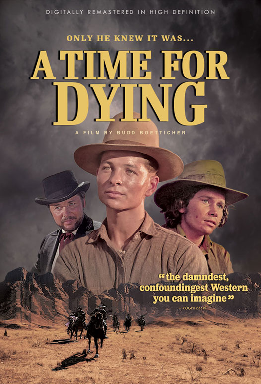 A Time for Dying poster art