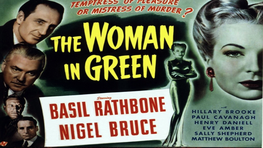 Sherlock Holmes The Woman in Green