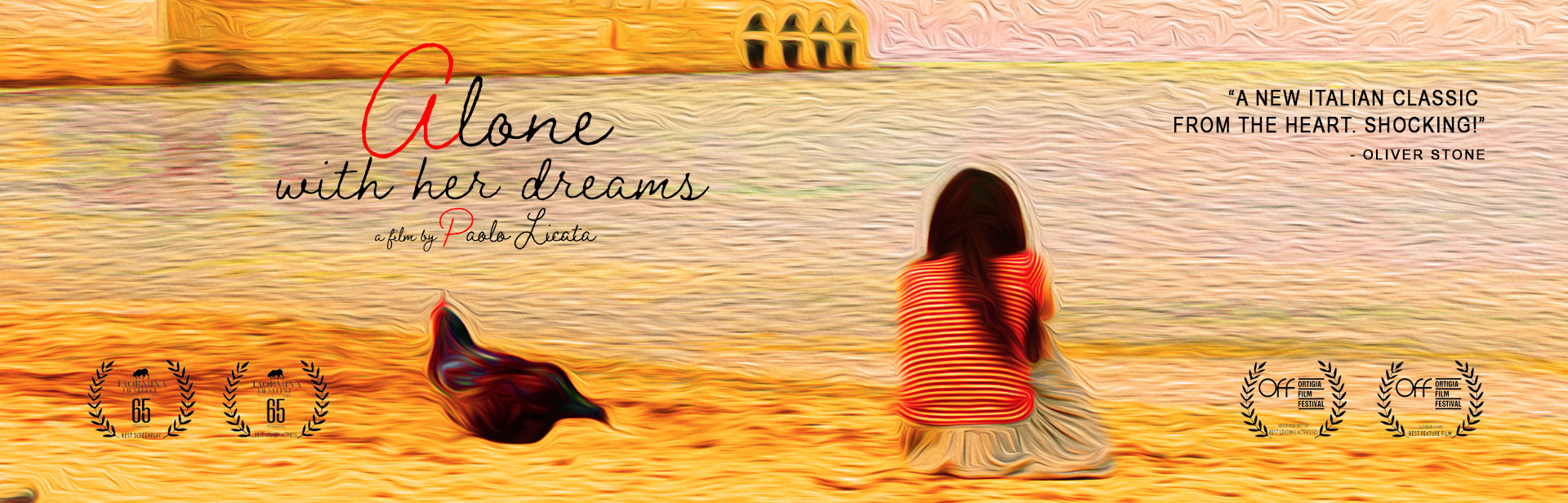 Alone With Her Dreams banner
