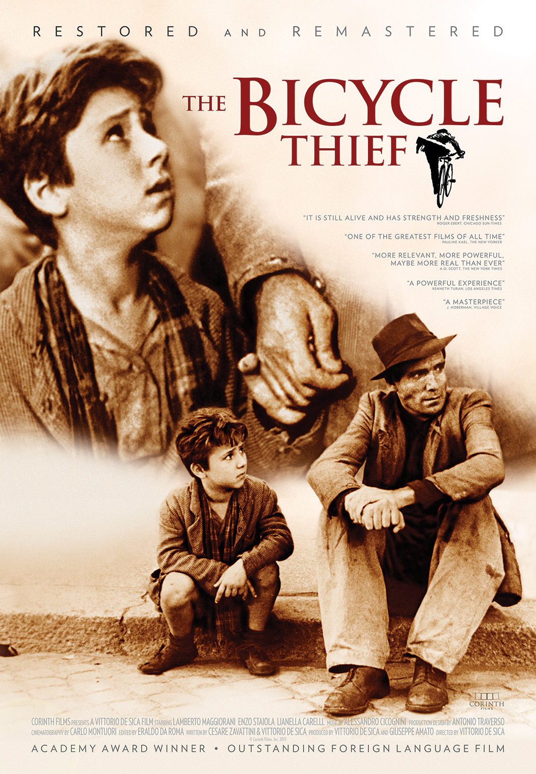 The Bicycle Thief Poster Art