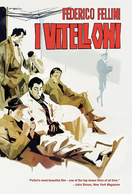 I Vitelloni Poster Art