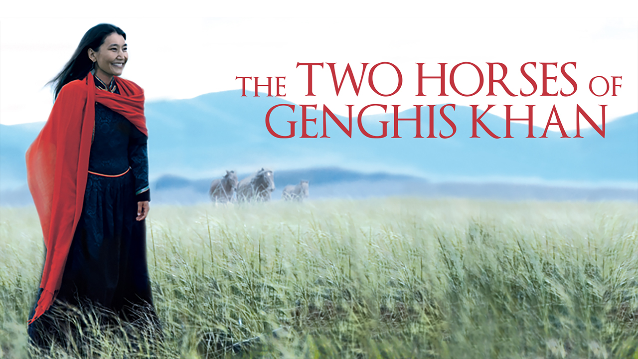 THE TWO HORSES OF GENGHIS KHAN