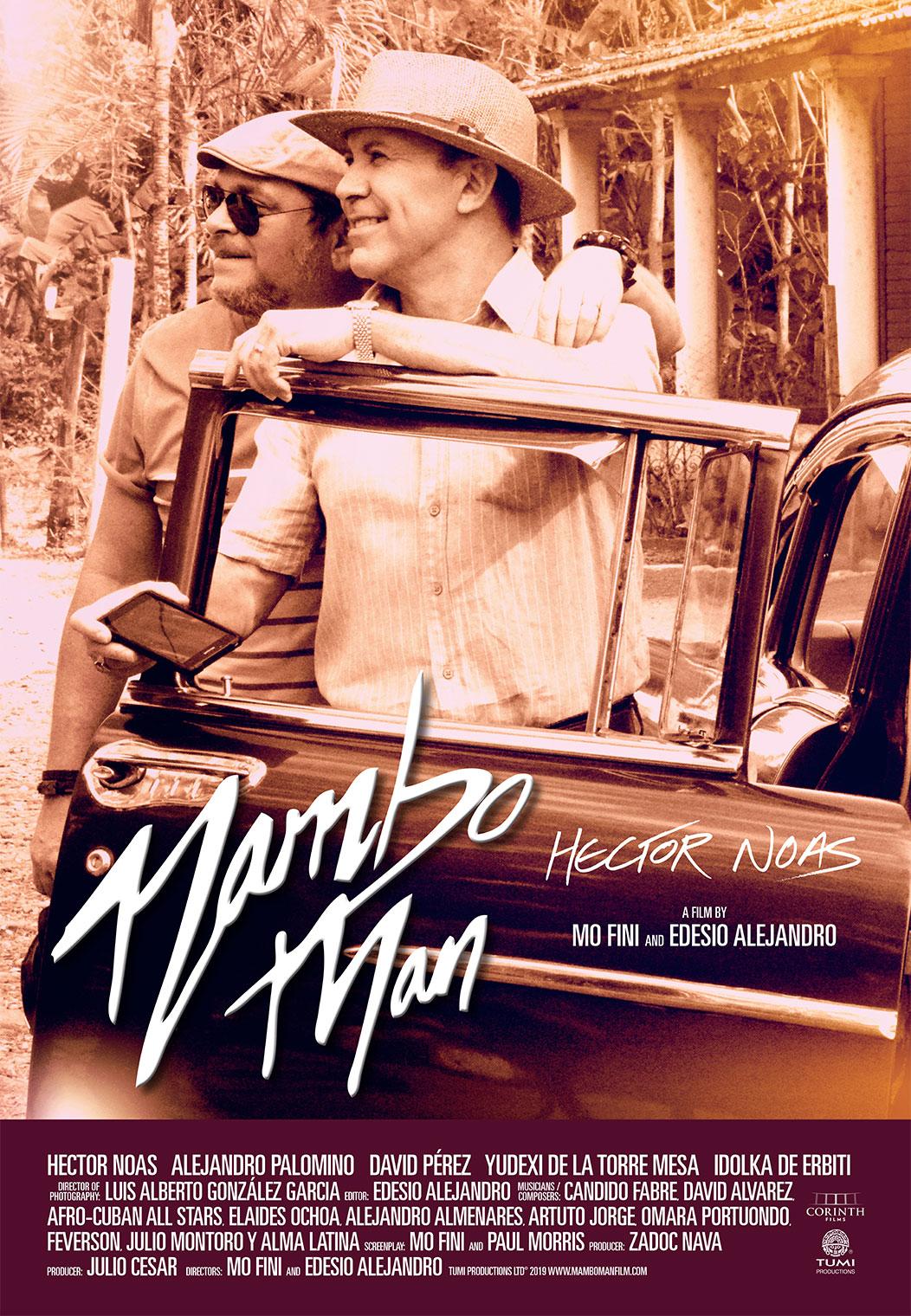 Mambo Man poster art