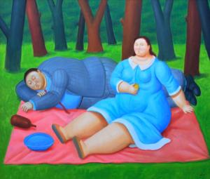 Botero artwork