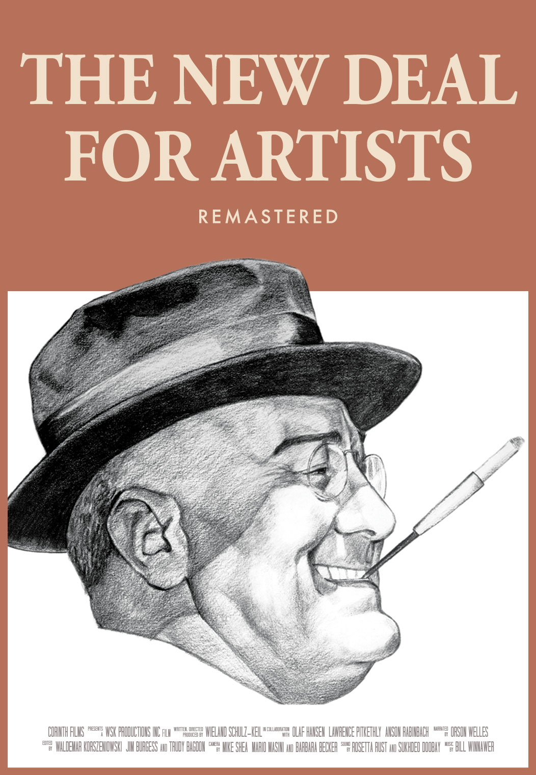 The New Deal For Artists poster