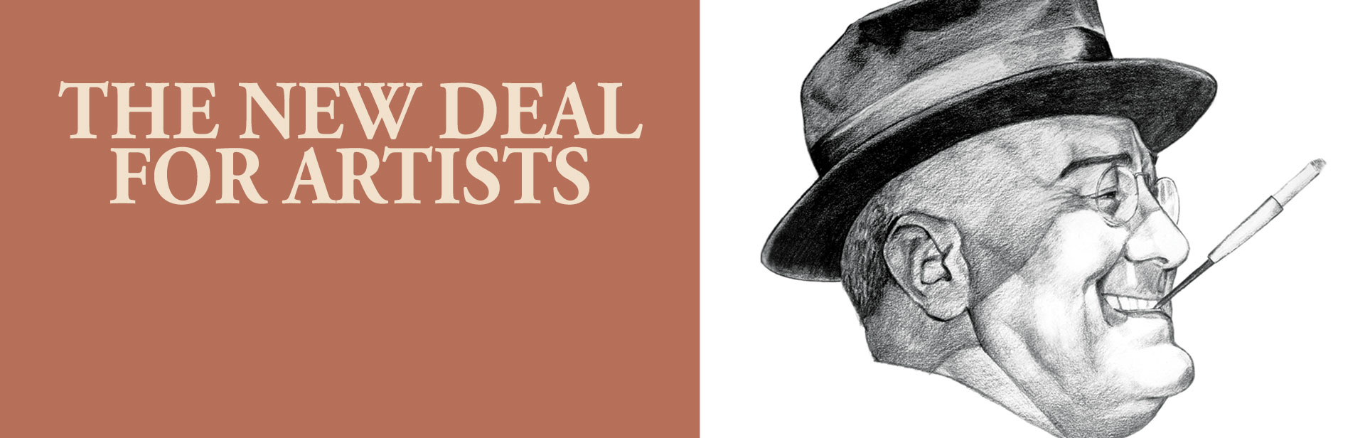 The New Deal For Artists banner